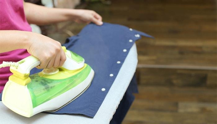 תוצאת תמונה עבור putting aluminum foil on ironing board