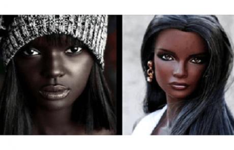 """דוגמנית אוסטרלית הקרויה """"הברבי השחורה"""" מדהימה את כולם ביופיה המיוחד!"""