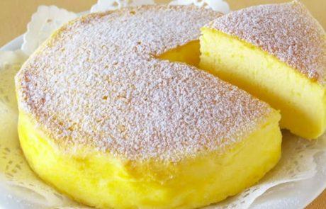 מתכון לעוגת גבינה יפנית בת שלושה מרכיבים שהפכו אותה להיסטריה ברשת!