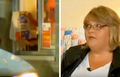 """זוג מזמין אוכל ממקדונלד'ס – ואז האישה פותחת את השקית וצורחת: """"זה לא אוכל!"""""""