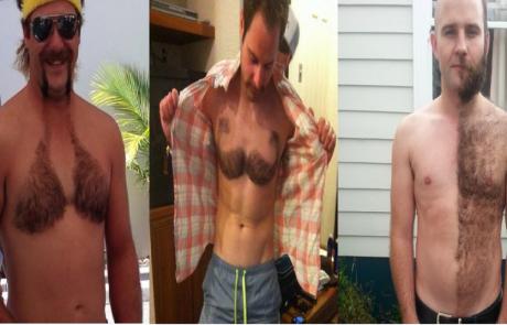 גברים משתפים תמונות של השיער החתוך הטרי שלהם וזה נראה.. איך נאמר? טרנדי ומוזר!
