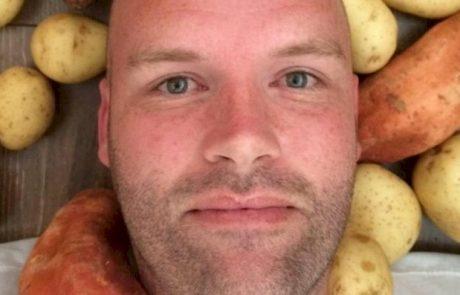 הוא אכל רק תפוחי אדמה במשך חודש. אחרי חודש אי אפשר לזהות אותו!