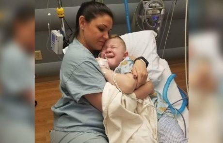 ילד בן 5 מתעורר מניתוח מפוחד ובודד – 'בקשתו המתוקה' תגרום ללב שלכם להיפתח