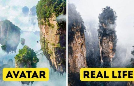 15 מקומות אמיתיים מדהימים שנראים כאילו נשלפו מסרטי פנטזיה
