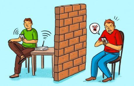 8 פריטים ביתיים שיכולים לגרום ל- WiFi לעבוד בצורה לא טובה ובאיטיות