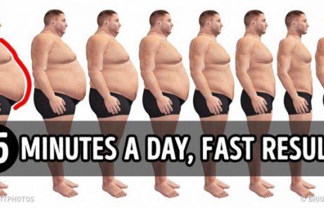 סט תרגילים בן 15 דקות שיאפשרו לכם לשרוף שומן תוך זמן קצר