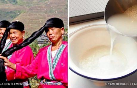 איך נשים סיניות שומרות על שיער כזה מדהים?