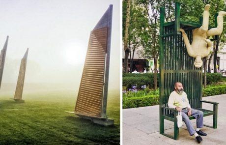 18 דוגמאות מגניבות לספסלים עירוניים שכנראה תרצו גם ברחוב שלכם