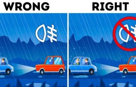 5 עצות מצילות חיים שיעזרו לכל נהג להתמודד עם נהיגה במזג אוויר מסוכן