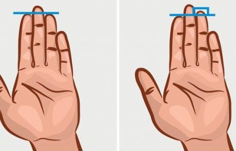 3 דברים שאורך האצבע שלך יכול לומר על האישיות שלך