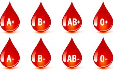 מה מדענים ממליצים לאכול על פי סוג הדם שלנו