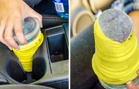 טיפים פשוטים שישמרו לכם על המכונית נקייה ומסודרת
