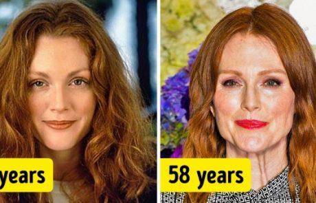 19 נשים מפורסמות מעל גיל 50 שמעולם לא עברו ניתוחים פלסטיים