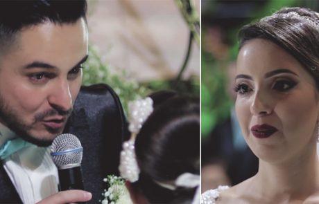 החתן מצהיר באמצע החופה שהוא אוהב מישהי אחרת וגורם לכלתו לבכות- צפו בקטע המלא