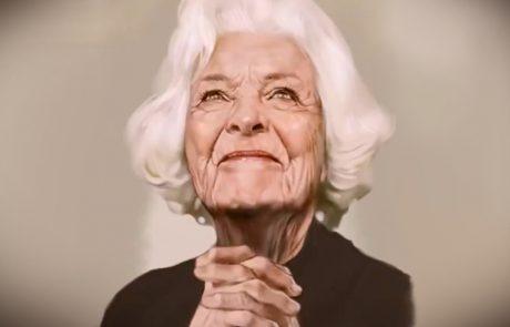 אם אתם חושבים שמדובר בתצלום של אישה קשישה – הביטו שוב